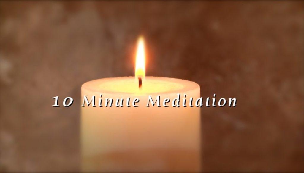 10 Minute Guided Meditation – Breathe Modern Meditation